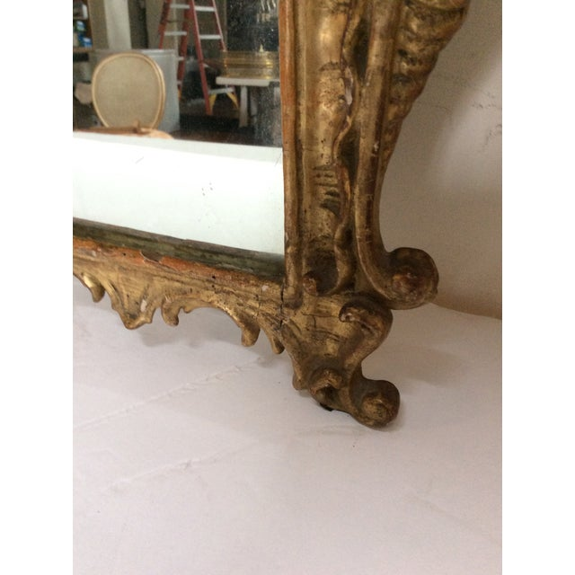 18th Century French Tassel Mirror - Image 9 of 11