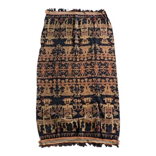 Indonesian Hinggi Ikat Textile For Sale