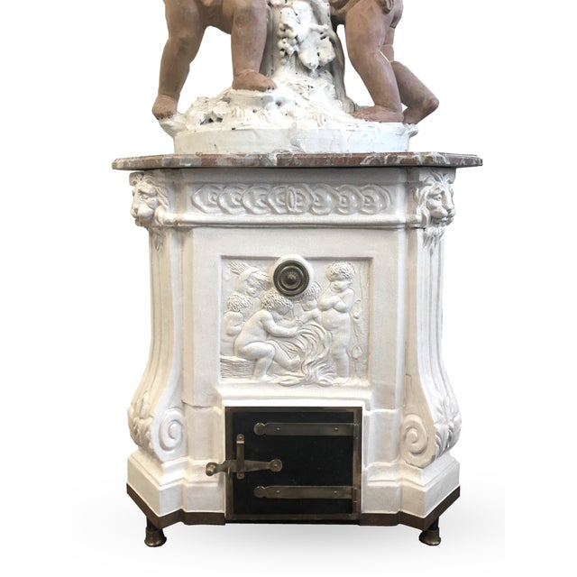 Frederick P. Victoria & Son, Inc. Louis XVI Heating Stove For Sale - Image 4 of 11
