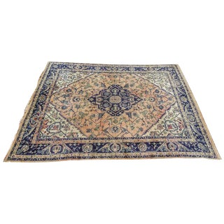 "19th Century Turkish Oushak Rug-9'10'x12'8"" For Sale"
