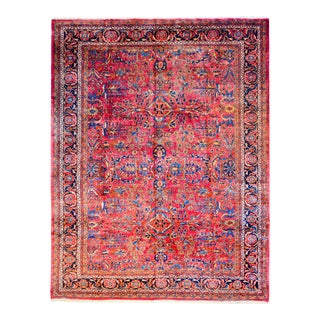 Beautiful Early 20th Century Malayer Rug For Sale