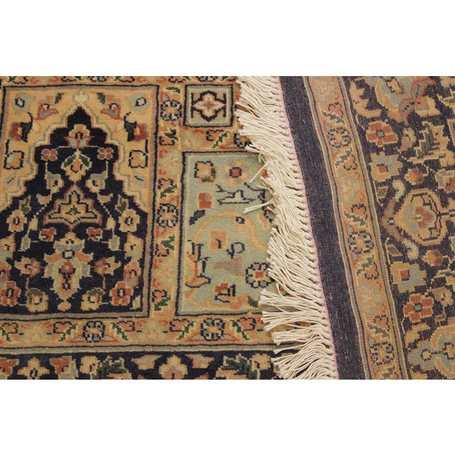Textile 1980s Vintage Bokhara Wanetta Wool Rug - 4′2″ × 6′10″ For Sale - Image 7 of 8