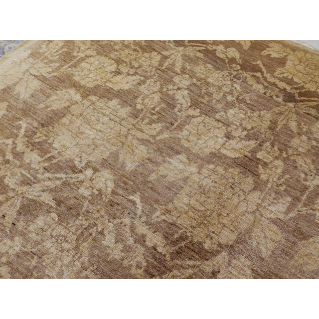 "Hand Knotted Persian Rug - 6'8""x 8' For Sale - Image 9 of 10"