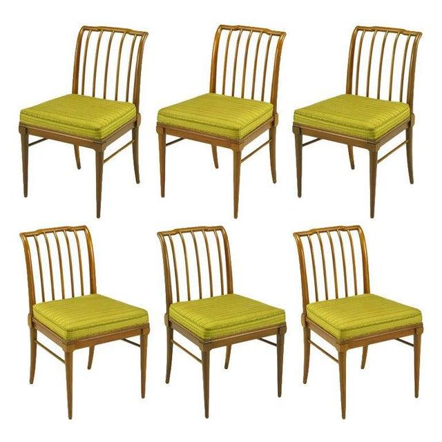 Six J. Stuart Clingman Dining Chairs by John Widdicomb For Sale - Image 11 of 11