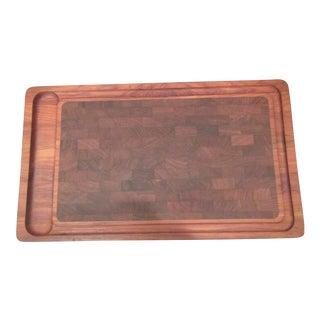Large Table Top Danish Dansk Cutting Board