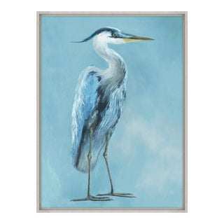 Kenneth Ludwig Heron in Blue I(IBG) Print For Sale