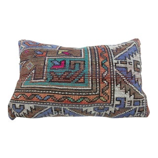 Tribal Crossing Vintage Kilim Pillow For Sale