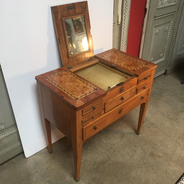 18th Century Louis XVI Dressing Table, Coiffeuse For Sale - Image 12 of 13