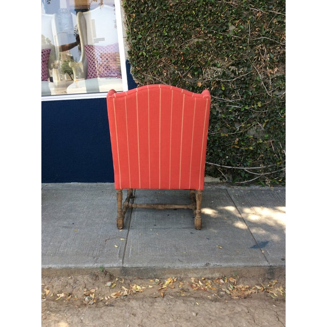Red Side Chairs - A Pair For Sale - Image 5 of 9