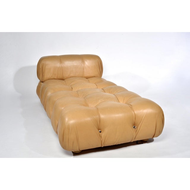 Mario Bellini 'Camaleonda' Chaise or Sectional Made in Italy in 1973 Modular 2 piece chaise / chair and ottoman Original...