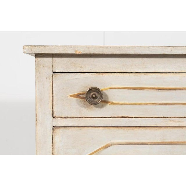 Swedish Gustavian Style Painted Commode For Sale - Image 4 of 9