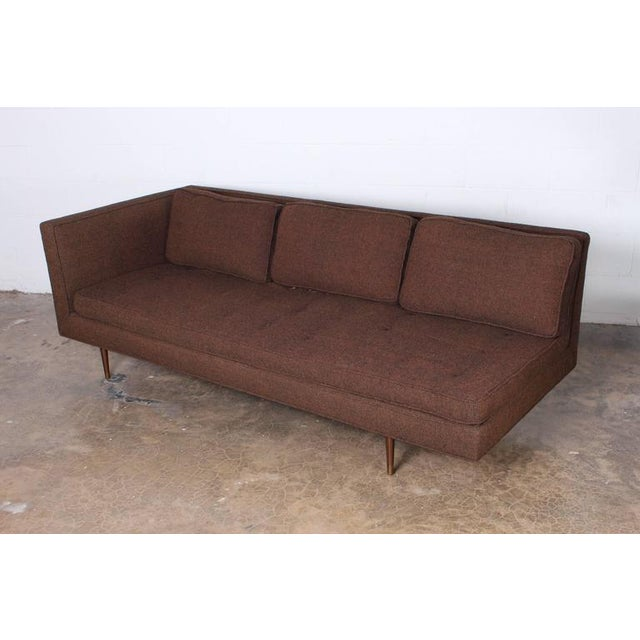 Sofa/Chaise by Edward Wormley for Dunbar For Sale In Dallas - Image 6 of 7