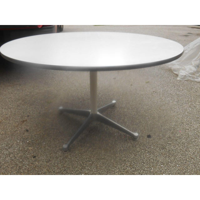 Textile Bruno Mathsson for Dux Chairs & Herman Miller Table For Sale - Image 7 of 11