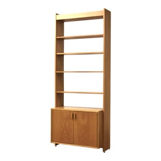 George Webb Solid Oak Bookcase For Sale