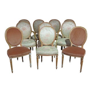 Karges Louis XVI Style Dining Chairs -Set of 10