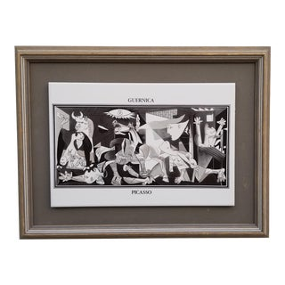 """Guernica"" Reproduction Ceramic Wall Art by Pablo Picasso For Sale"