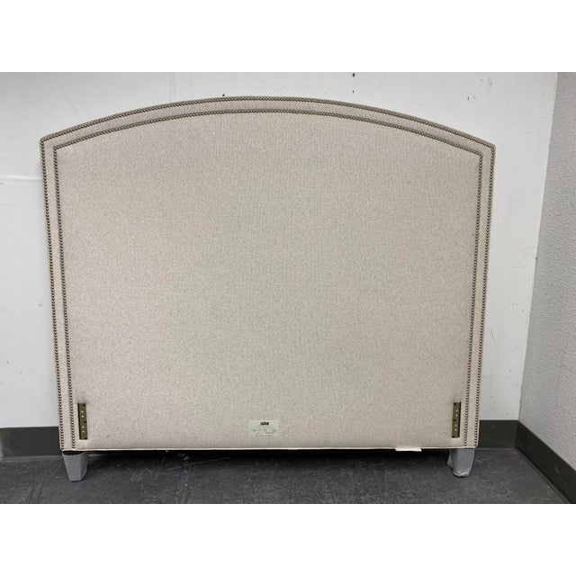 Lee Industries Queen Size Lee Industries Arch Headboard For Sale - Image 4 of 13