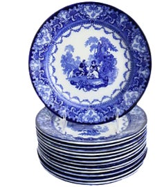 Image of Shabby Chic Dinnerware