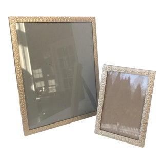 Siena Metallic Frames- a Pair