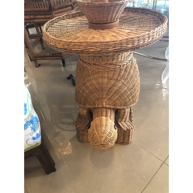 Vintage wicker turtle floor lamp end side table chairish vintage wicker turtle floor lamp end side table image 5 of 13 aloadofball Images