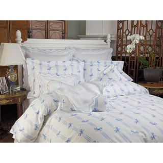 Tiffani Duvet Cover Blue in Twin For Sale