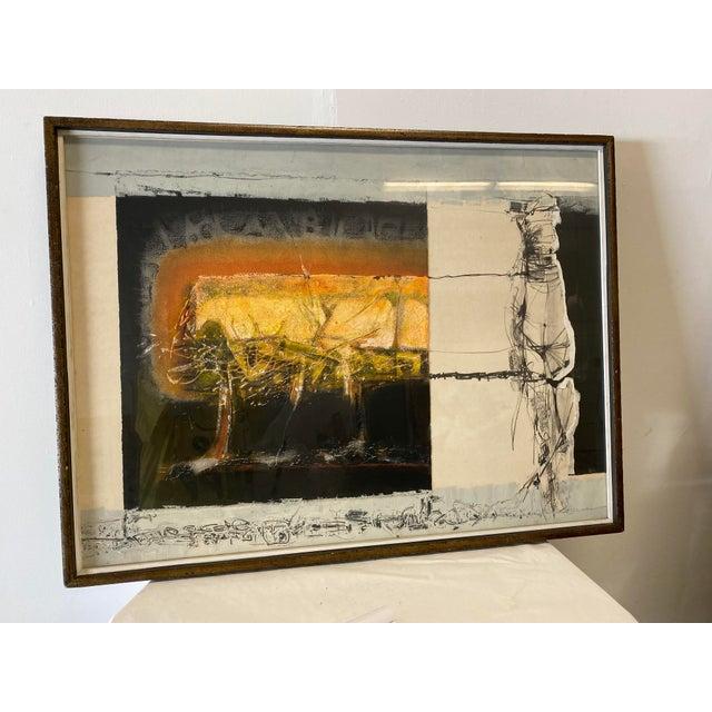 Joni Pienkowski Mixed Media Painting For Sale - Image 13 of 13