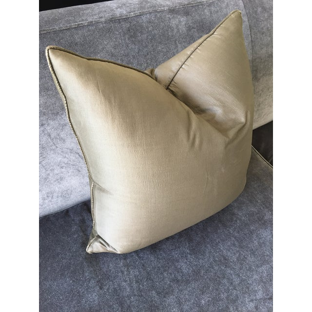 Contemporary Christian Liaigre Silk Pillow For Sale - Image 3 of 8