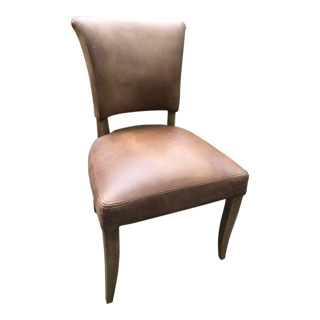 Amazing Restoration Hardware Adele Leather Side Chair Set Of 4 Machost Co Dining Chair Design Ideas Machostcouk