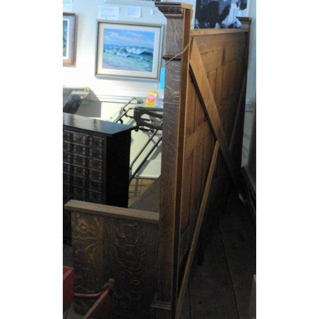 Vintage Sawn Oak Bench - Image 9 of 11