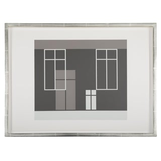 Josef Albers From Formulation: Articulation, 1972 Silkscreen Prints, Folio I / Folder 21 For Sale