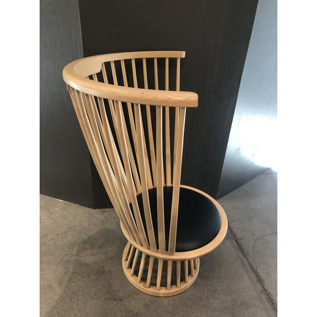 Wood Tom Dixon Fan Chair Natural For Sale - Image 7 of 12