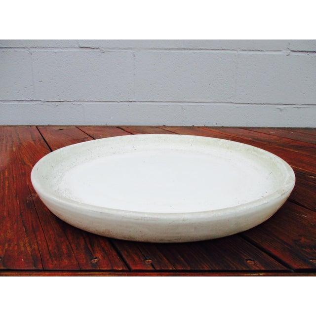 Vintage Ceramic Planter Drip Saucer - Image 5 of 8