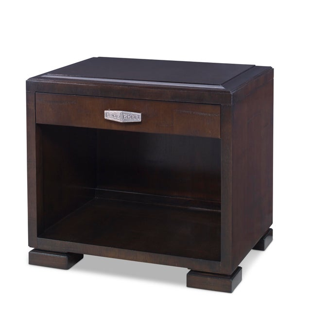 Modern Century Furniture Voyager Nightstand For Sale - Image 3 of 3