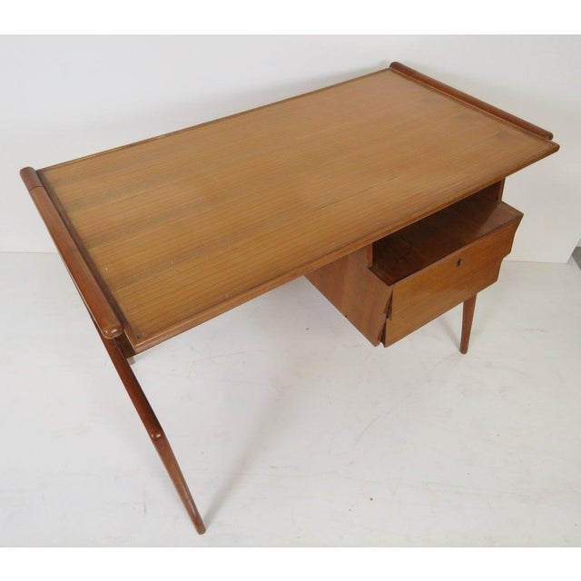 1950's Italian Desk in the Manner of Ponti - Image 2 of 4