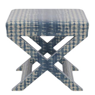 X Bench in Shibori For Sale