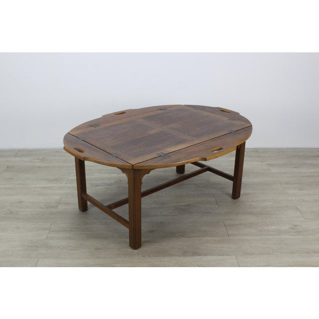 Mid-Century Walnut Tray Table For Sale - Image 12 of 12