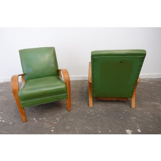 Mid-Century Modern Bentwood Club Chairs - a Pair Preview