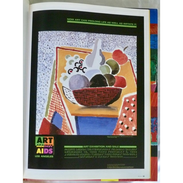 Contemporary David Hockney: Poster Art Book by Brian Baggot For Sale - Image 3 of 8