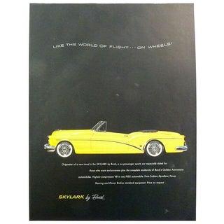 "1953 ""Skylark"" Magazine Advertisement For Sale"