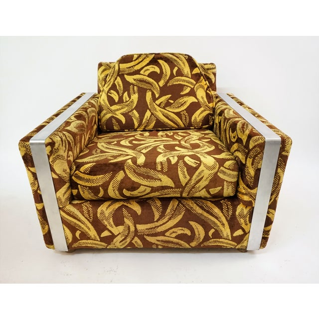 This is a Sixties Lounge Chair aka Club Chair with a Warhol flair. I believe Warhol did an album cover for Nico & the...