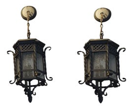 Image of Hanging Lanterns