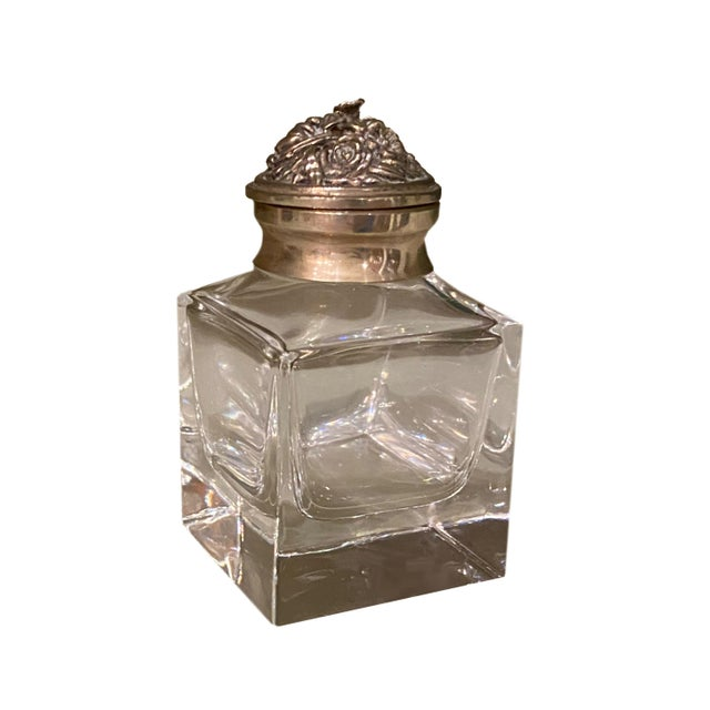 Italian Silver Top Ink Well For Sale In Dallas - Image 6 of 6