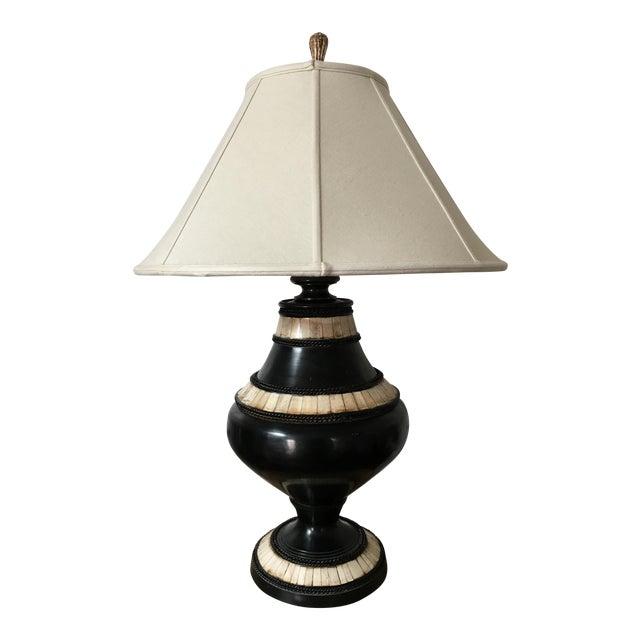 John richard ebony ivory table lamp chairish john richard ebony ivory table lamp image 1 of 11 aloadofball Images