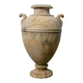 Italian Alabaster Vase, Circa 1850 For Sale
