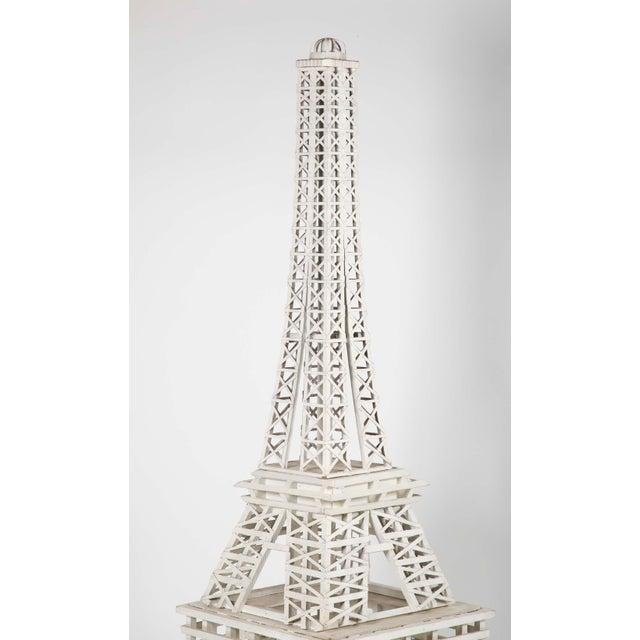 1950s 1950s Handmade Eiffel Tower Folk Art For Sale - Image 5 of 6