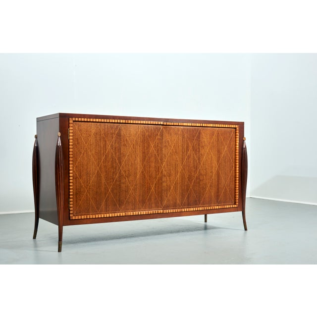Gold Credenza by Baker Furniture, Circa 1980's For Sale - Image 8 of 8