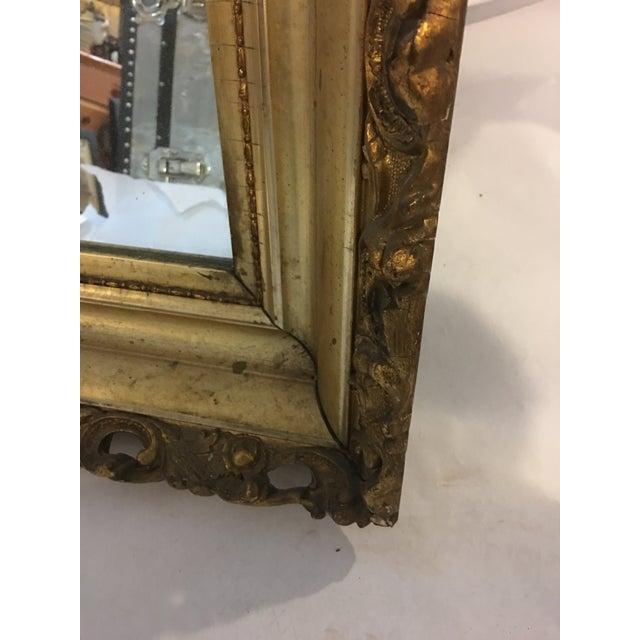 Carved Gold Framed Mirror - Image 7 of 8