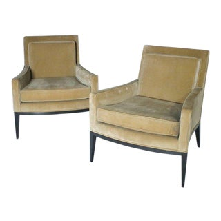 Pair of Harvey Probber #1047 Lounge Chairs For Sale