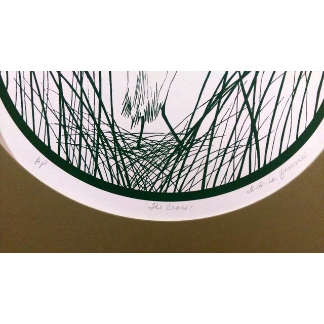 Paper B.B. La Femme Waterbird Artist Proof Serigraphs- S/3 For Sale - Image 7 of 7
