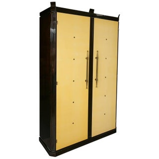 Parzinger Originals Art Deco Wardrobe For Sale